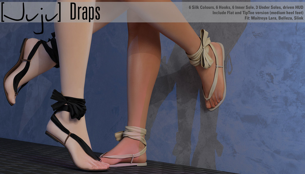 [Juju] Draps for FaMESHed - SecondLifeHub.com