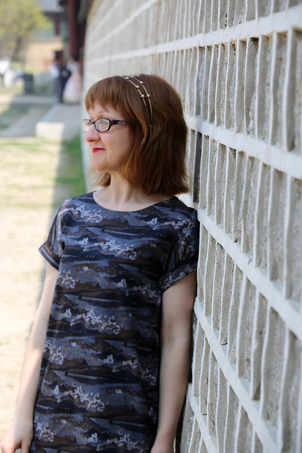 Named Inari Tee Dress in Liberty Cotton Lawn