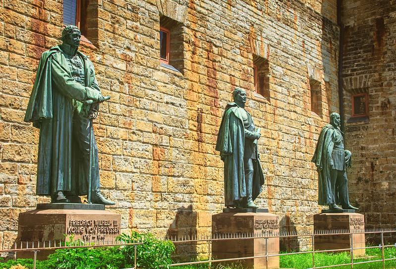 Hohenzollern estatuas