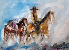 """""""DeGrazia's Cowboys"""""""