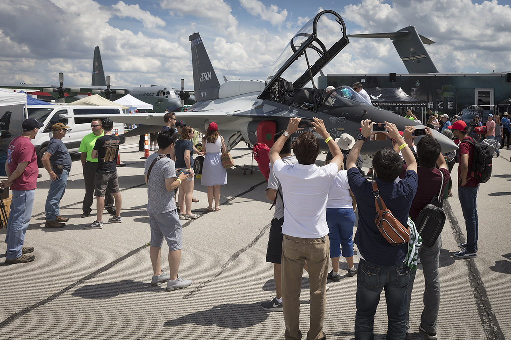 T-50A at Dayton Airshow 2017