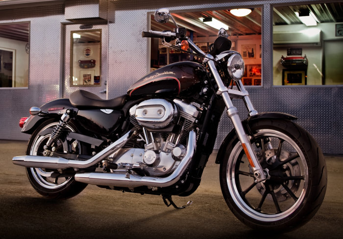 Harley-Davidson XL 883 L Superlow 2011 - 20