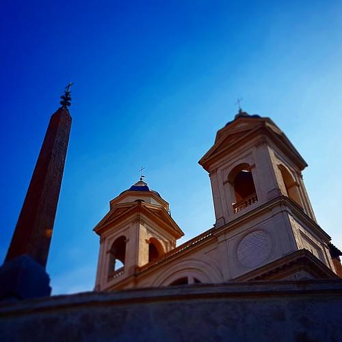 Roma: Trinità dei monti