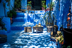 The Blue City. Chefchaouen, Morocco.