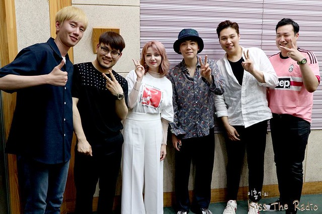 "170702 KBS Cool FM ""Lee Hong Kiss The Radio"""