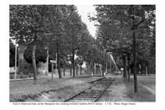 Tour d'Abancourt halt looking towards Cambrai. 1.7.62