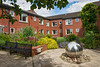 Burnside Court - exterior and sensory garden
