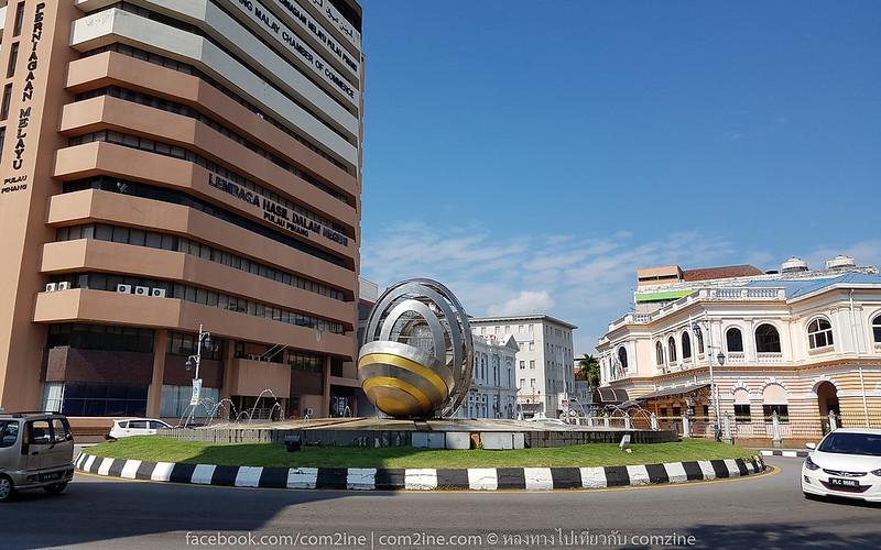 Jubilee Clock Tower ที่เที่ยวเมืองปีนัง