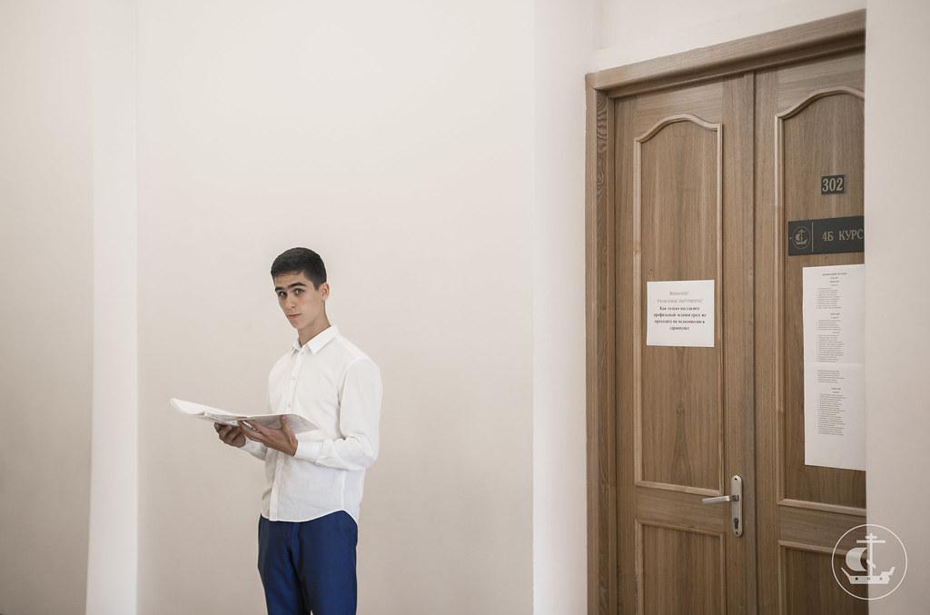 10 июля 2017, Вступительные экзамены на бакалавриат. Часть 2 / 10 July 2017, Entrance exams for Bachelor program. Part 2