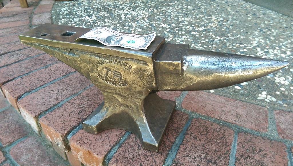 Rare 1918 65lb Arm & Hammer Anvil Refurbish and Stand Build