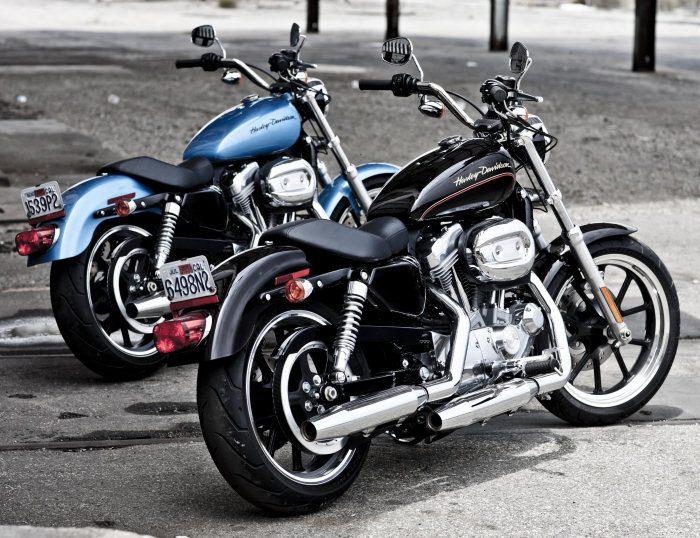 Harley-Davidson XL 883 L Superlow 2011 - 8
