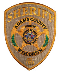 Adams County Sheriff Patch