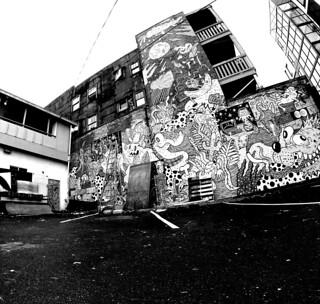 7th Ave Alley Graffiti