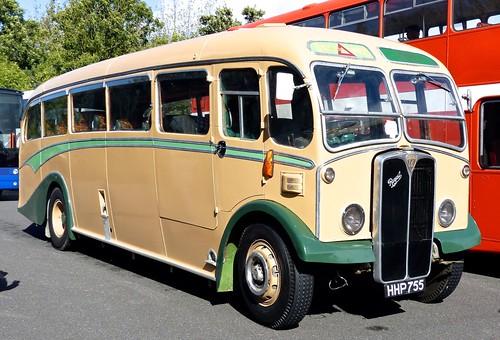 HHP 755 'Greenslades Tours' AEC Regal 3 / Duple on 'Dennis Basfords railsroadsrunways.blogspot.co.uk'
