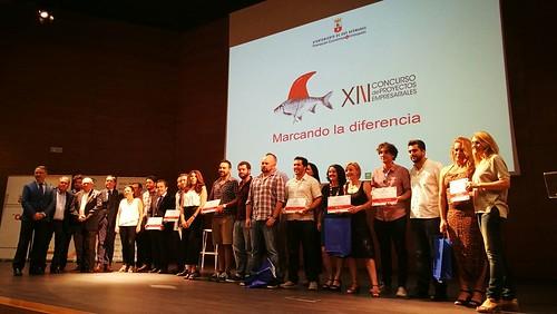 Entrega de premios del Concurso de Proyectos Empresariales de Dos Hermanas
