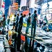 Small photo of Time's Square after rain