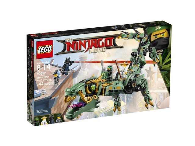 70612 Green Ninja Mech Dragon 1