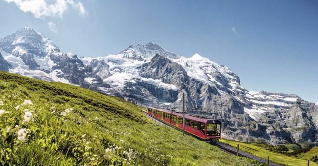 Soutěž o jízdenky s Jungfraubahnen.
