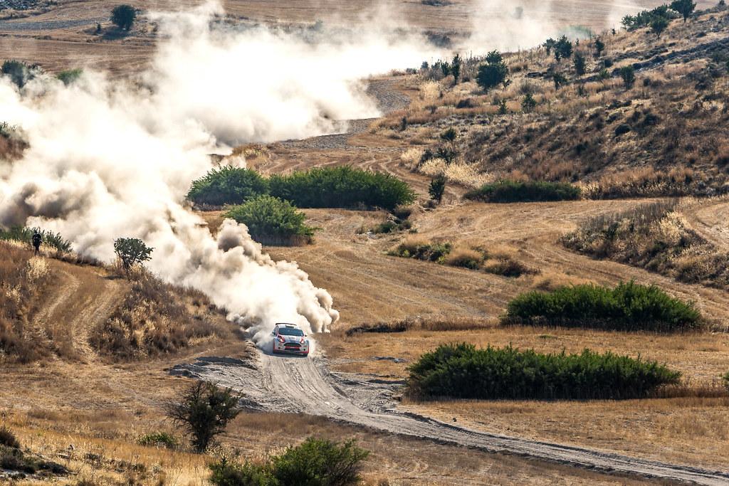 10 DENKTAS Rauf (tur) and SAVARONA Dervis Bora (tur) RAUF DENKTAS FORD FIESTA R5 action during the 2017 European Rally Championship ERC Cyprus Rally,  from june 16 to 18  at Nicosie, Cyprus - Photo Thomas Fenetre / DPPI