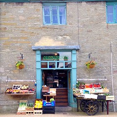 Greengrocer in Hay-On-Wye