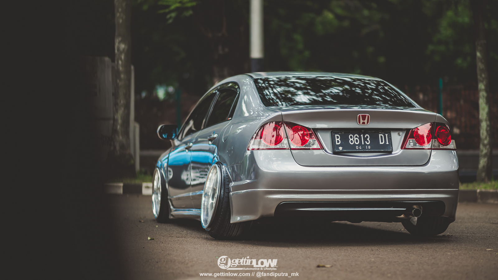 Gettinlow Iksan Syah 2008 Honda Civic Fd On Work Vsxx