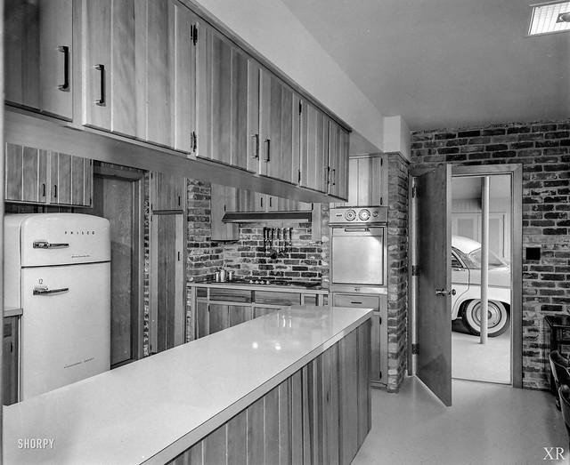 1956 ... kitchen with DeSoto