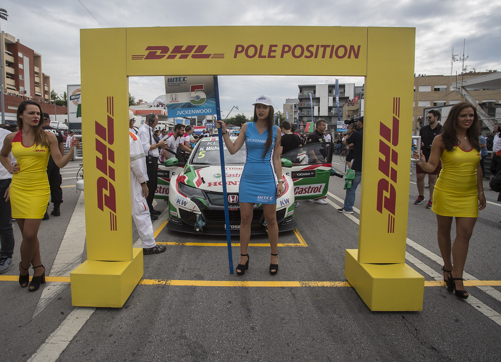 DHL POLE POSITION  during the 2017 FIA WTCC World Touring Car Championship race of Portugal, Vila Real from june 23 to 25 - Photo Gregory Lenormand / DPPI