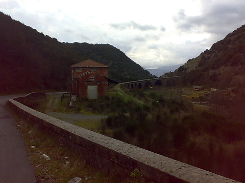 The old railway station in Lauria