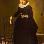 Young Woman Holding a Pink