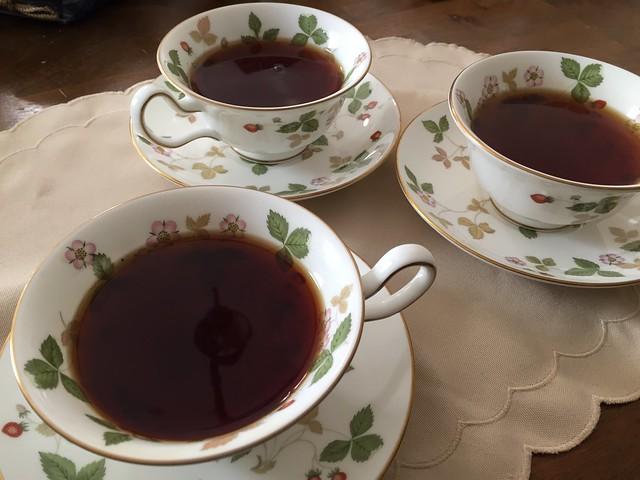 Blind tea tasting