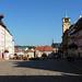 Cheb – náměstí krále Jiřího z Poděbrad, foto: Petr Nejedlý
