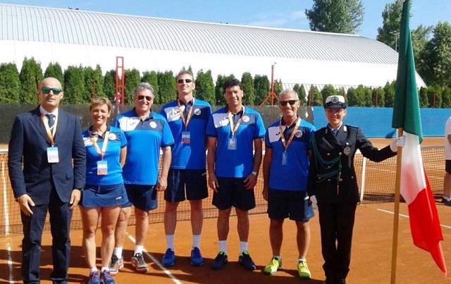 Noicattaro. Cesare Porcelli agli Europei di Tennis intero2