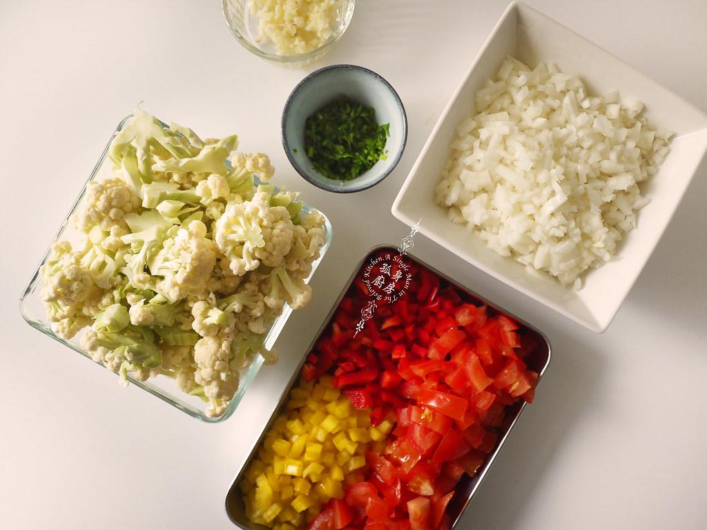 孤身廚房-Staub媽咪鍋煮超滿的印度蔬食花椰菜咖哩5