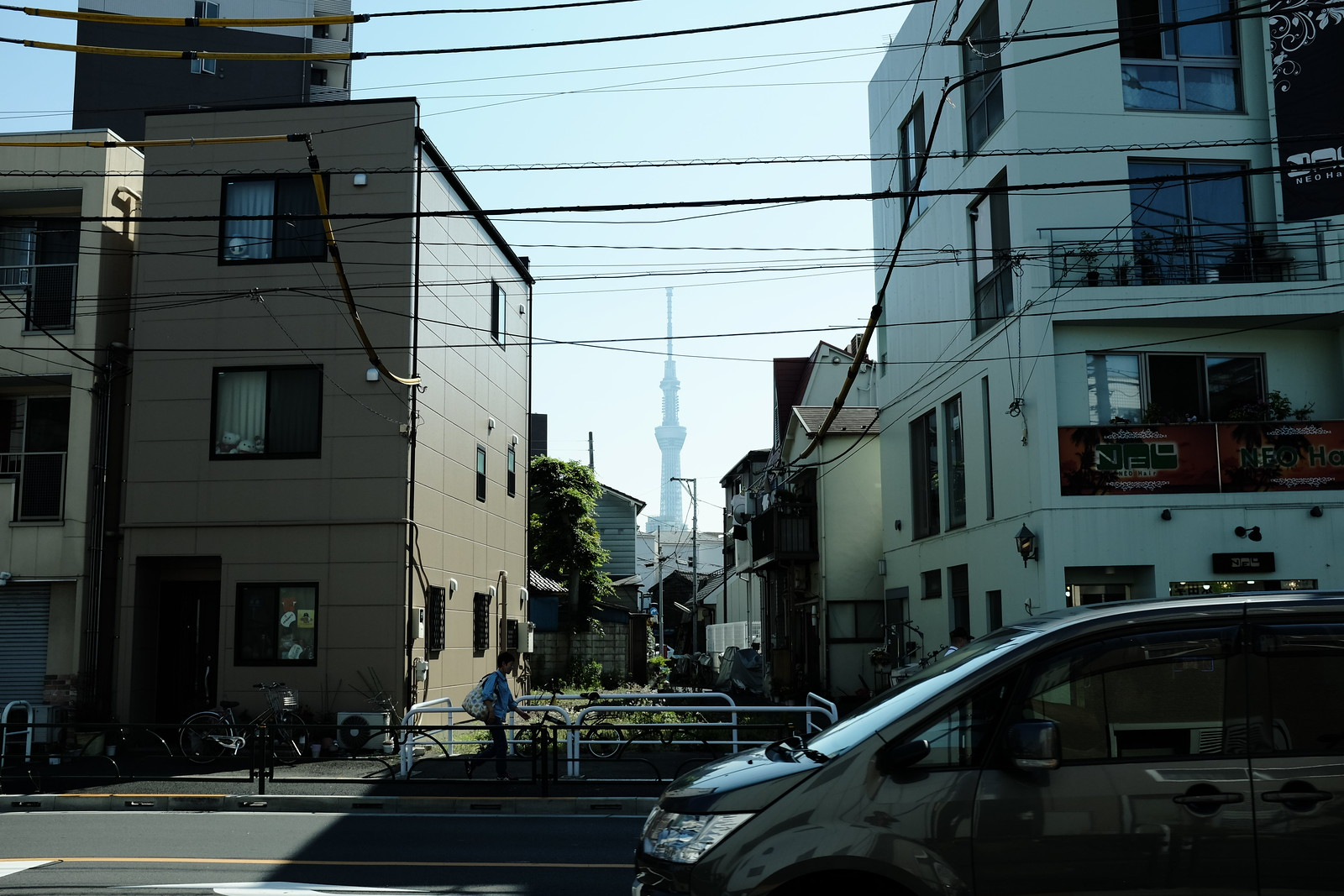 The Sumida-ku Tokyo taken by FUJIFILM X100S.
