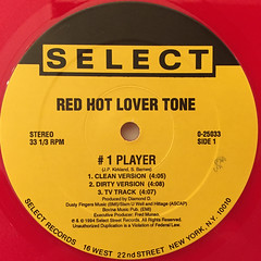 RED HOT LOVER TONE:#1 PLAYER(LABEL SIDE-A)