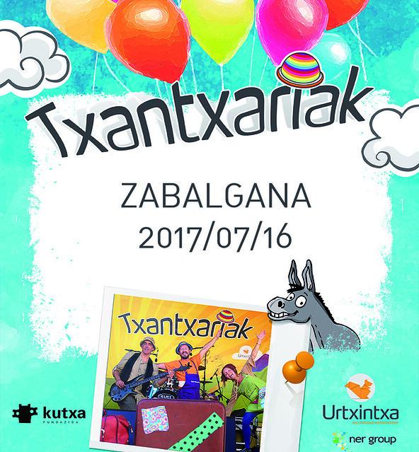 Txantxariak Zabalganan 2017/07/16