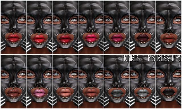 Bound Box July_itGirls - MISTRESS Lips