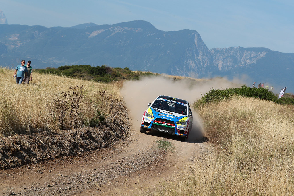10 TIBOR Erdi JR (hun) and PAPP George (hun) action during the European Rally Championship 2017 - Acropolis Rally Of Grece - From June 2 to 4 - Photo Gregory Lenormand / DPPI