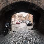 Entering Trastevere