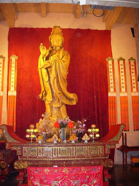 Guanyin au Temple de Jing'an