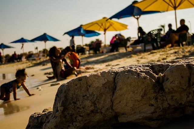 Kids make the beach alive