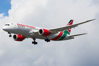 5Y-KZC Boeing 787 Kenya Airways