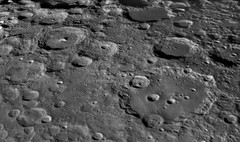 Moretus and Clavius Craters Region