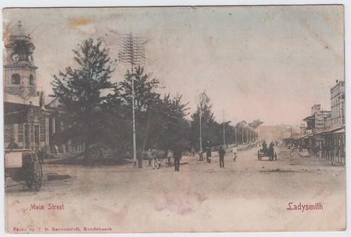 ladysmith correspondence postcards 1900s
