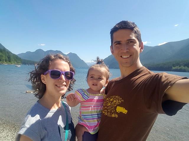 Alouette Lake Selfie