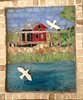 Grass Island fishing Shack, in Guilford,  CT by ree-creation-mosaics