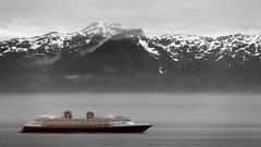 Alaskan Cruise Ship - Disney Wonder
