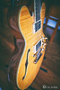 Semi-Hollow Body Guitar
