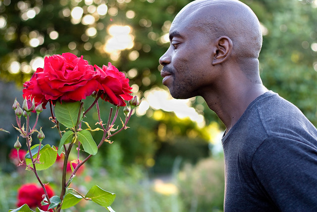 Week 125 of chemo: Taking a moment to smell the roses