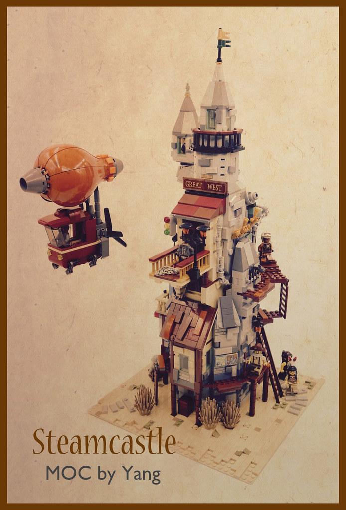 Steamcastle MOC